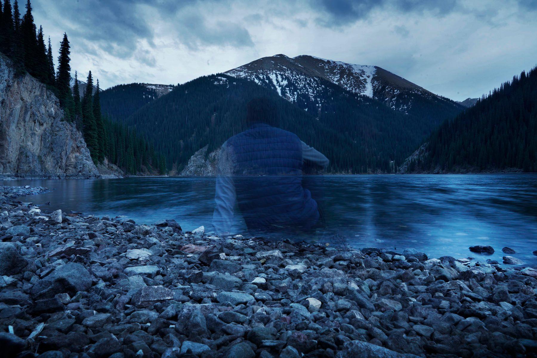 Второе кольсайское озеро - Казахстан.