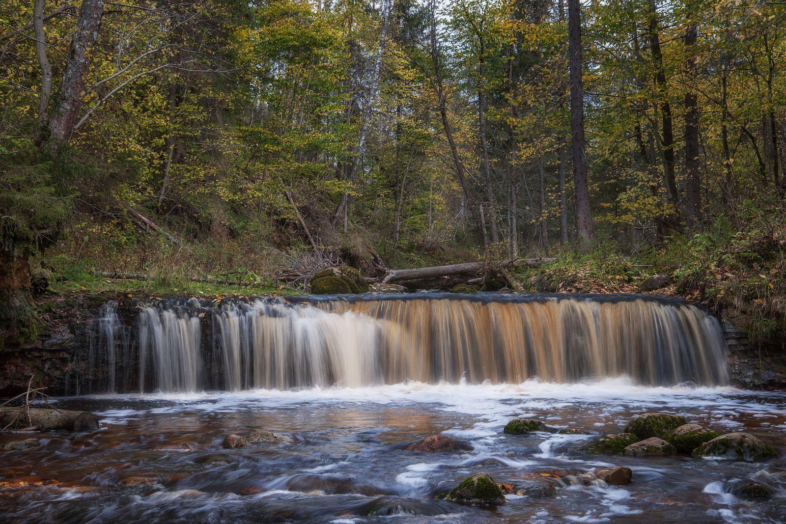 Водопад на реке Белая. Новгородская область Река Белая водопад на реке Новгородская область водопады Новгородской области