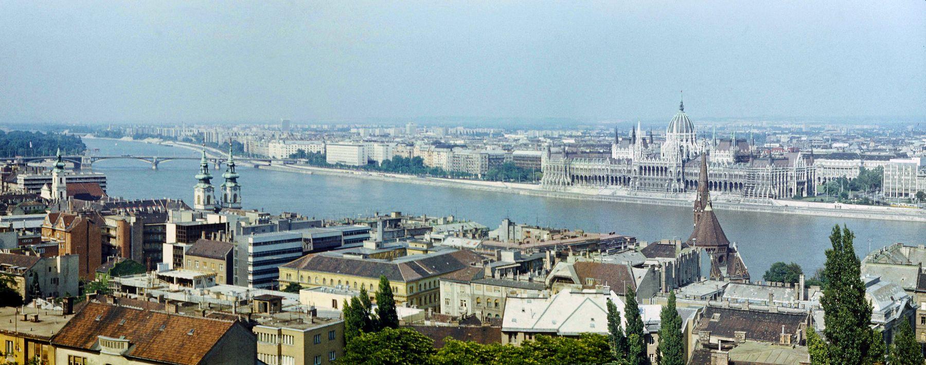 Будапешт 01 Будапешт Дунай венгерский парламент мост Маргит остров
