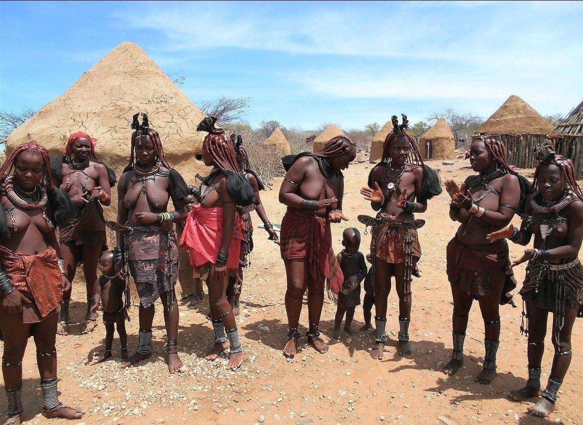 Снова химба. Намибия.