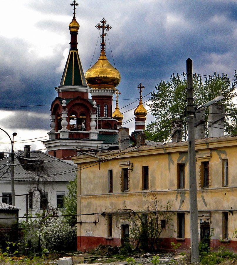 Купола над бренным миром церковь купола барак