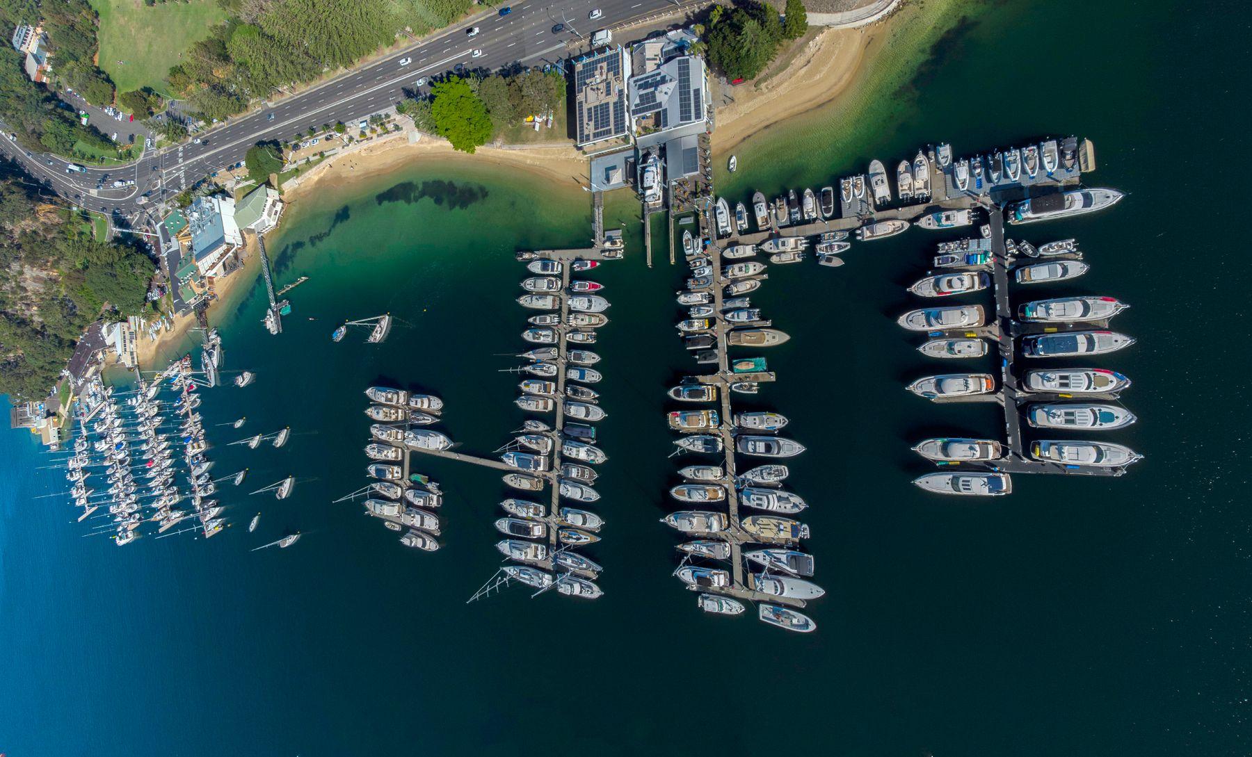 *** Sydney Manly Beach яхты