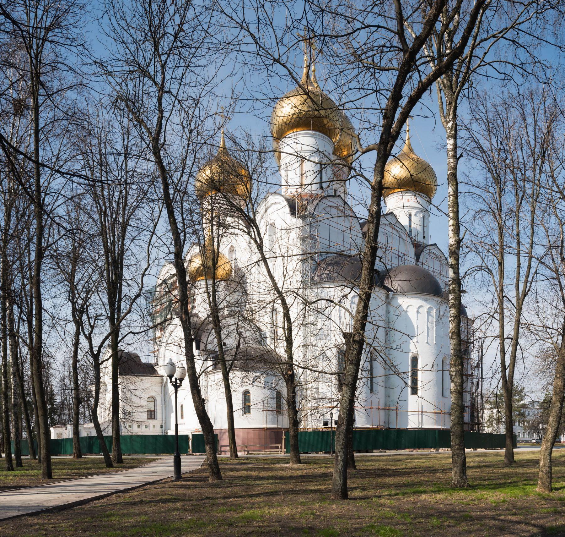 Успенский кафедральный собор г. Ярославль