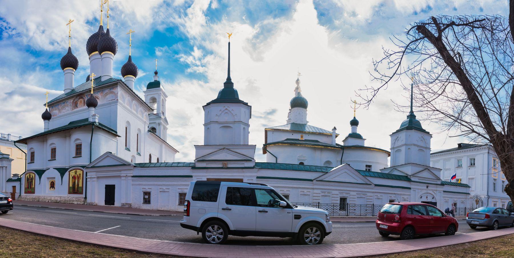 Кирилло-Афанасьевский мужской монастырь г. Ярославль