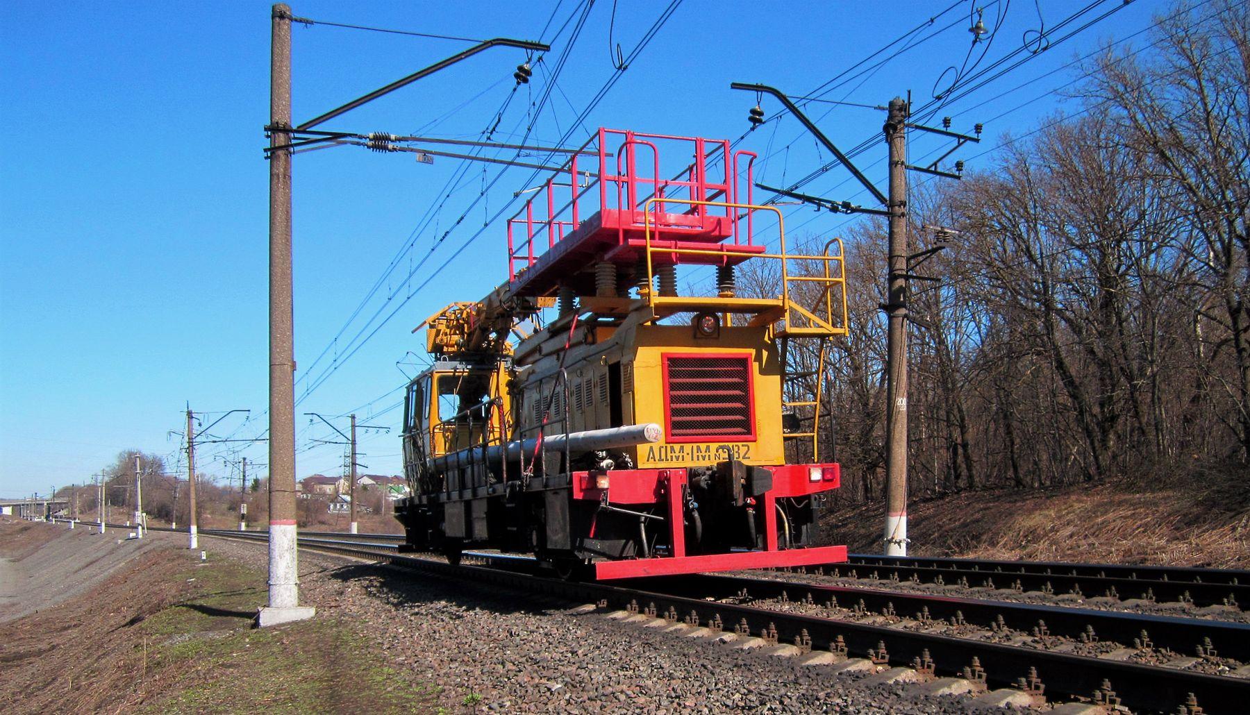 АДМ-1М - 982 АДМ-1М мотриса весна железная дорога