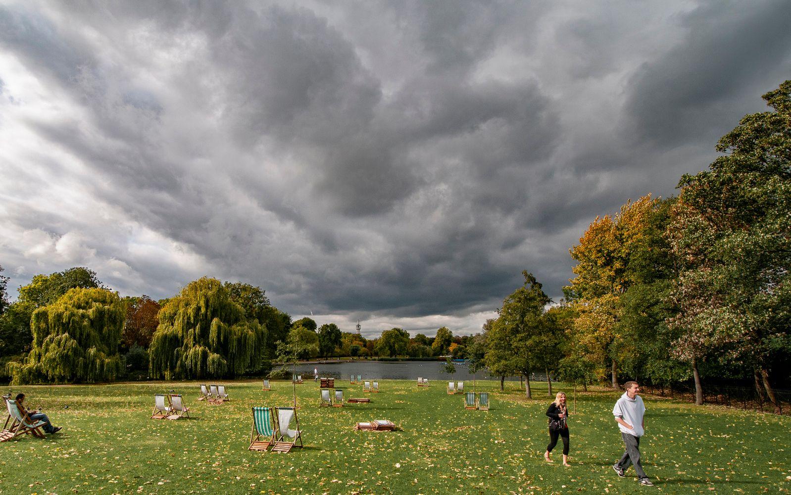 Пора уходить... Лондон Риджентс-Парк