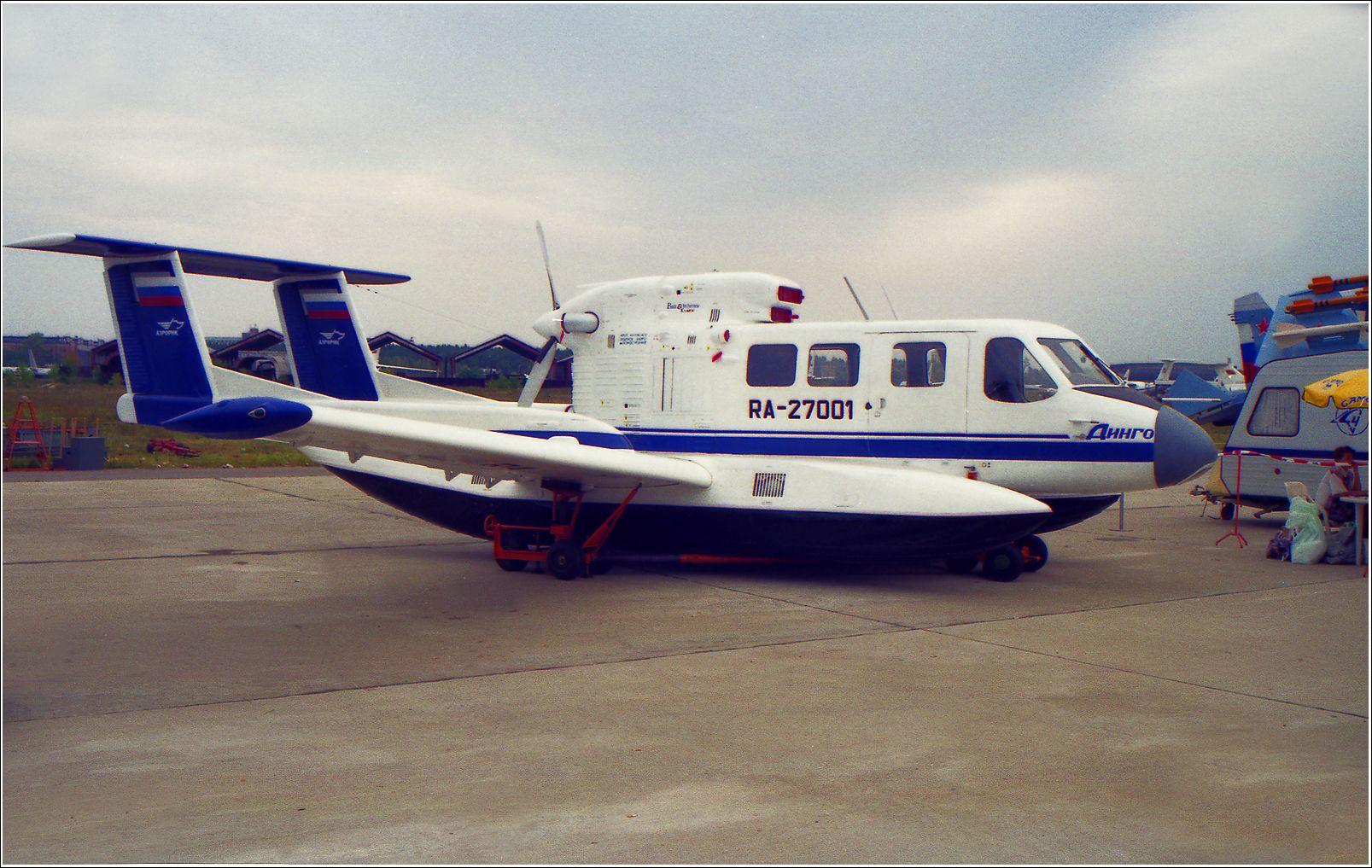 Динго, 1995 год Динго авиация самолет стоянка Жуковский 1995