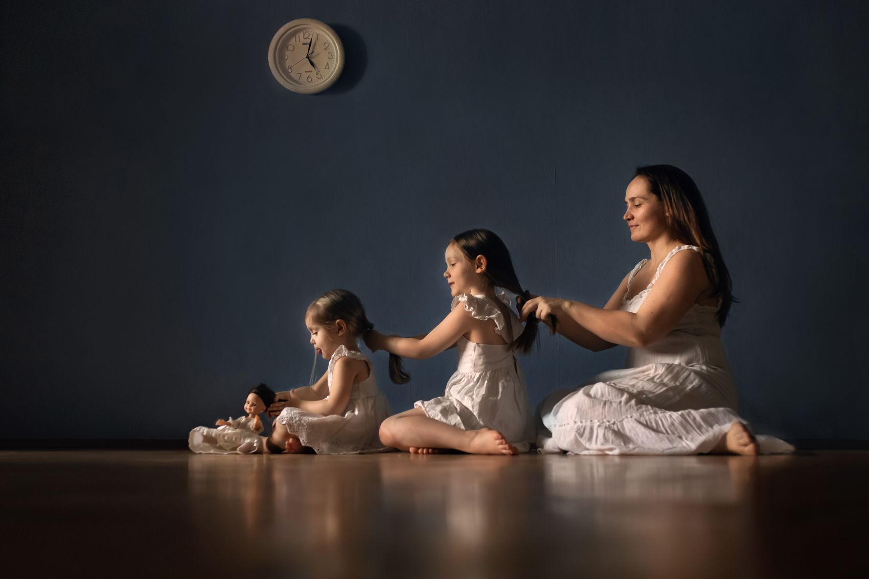 девочки, такие девочки ) семья дочки девочки время кукла коса