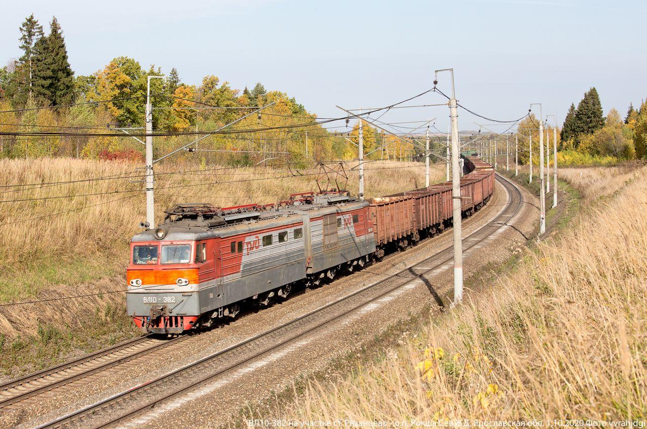 ВЛ10-382 электровоз ВЛ10