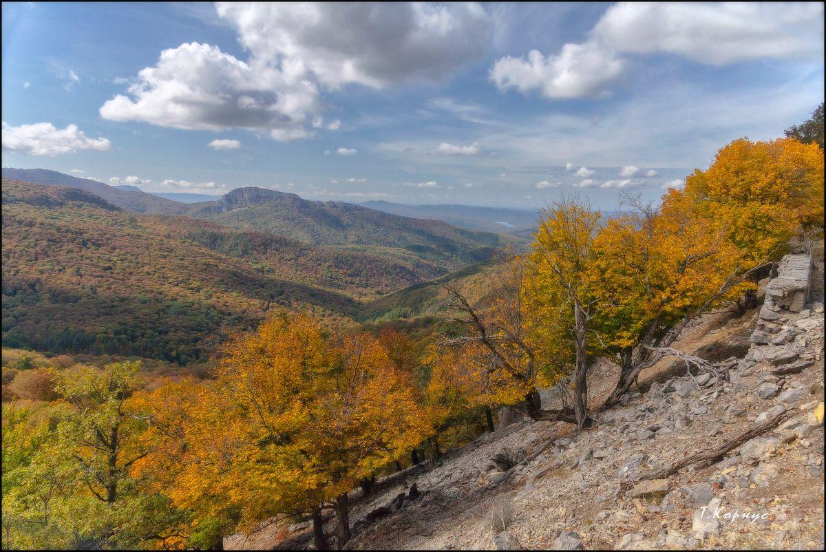 Осень в горах Крым осень горы