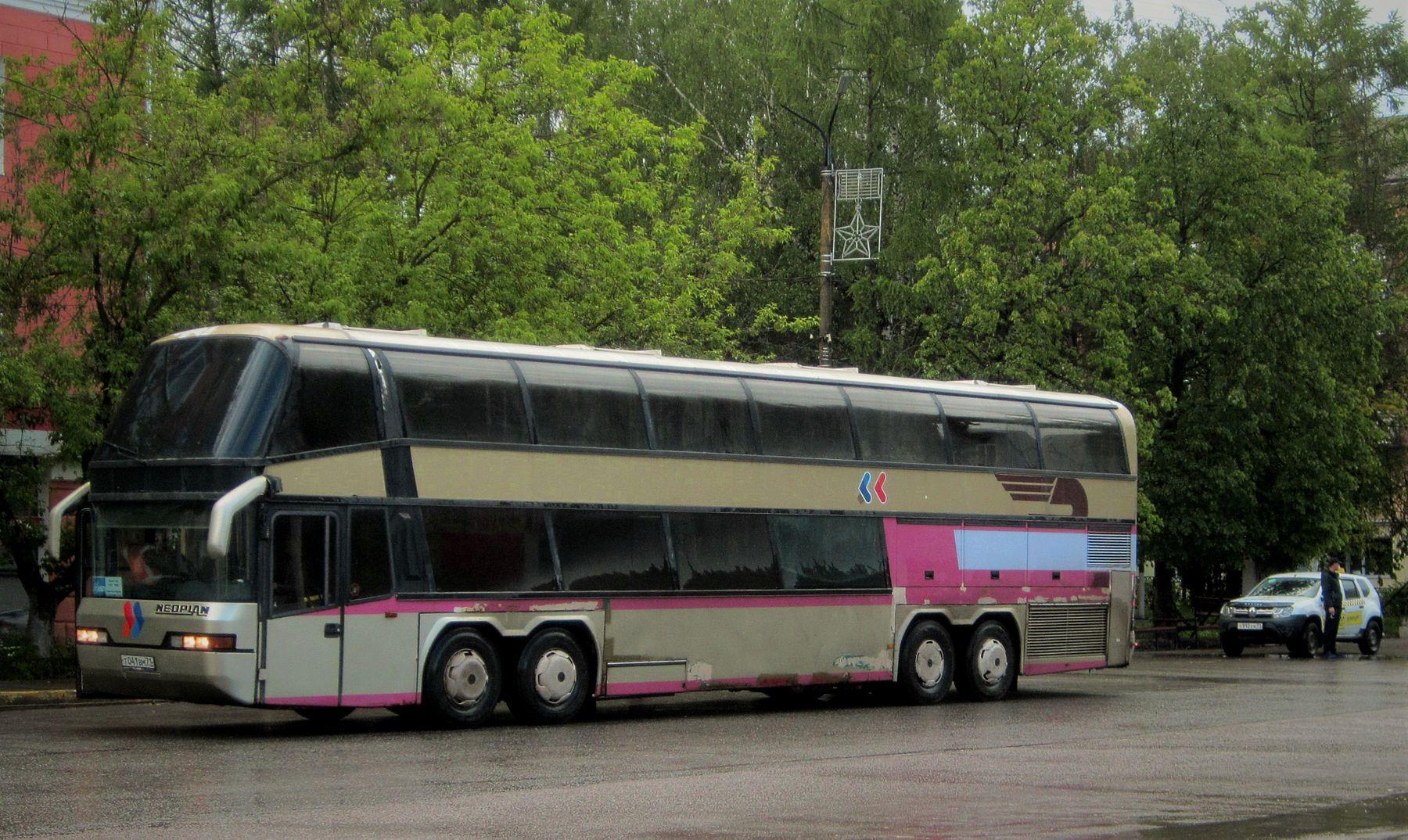 NEOPLAN NEOPLAN автобус улица город лето