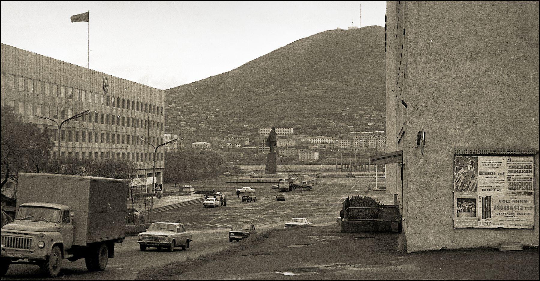 На краю земли. Петропавловск Камчатский, середина 80-х