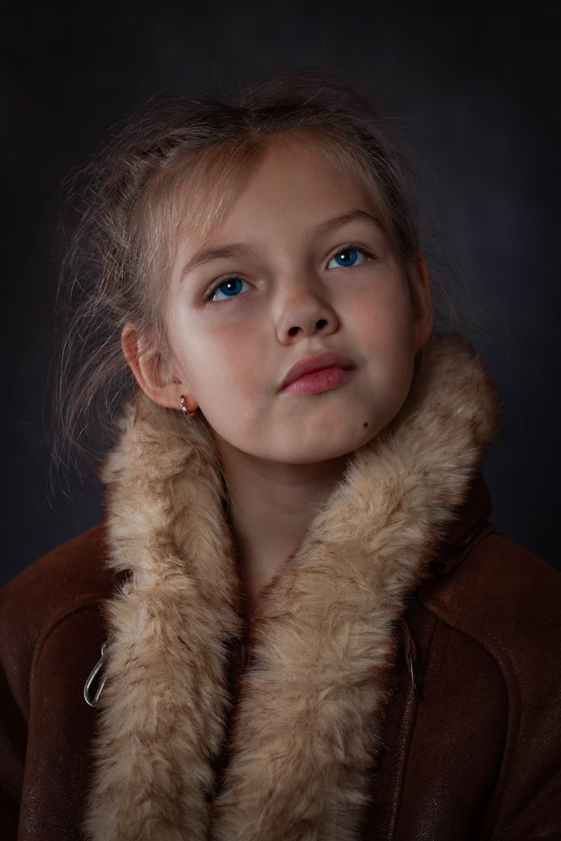 Портрет дочки детский портрет дочка