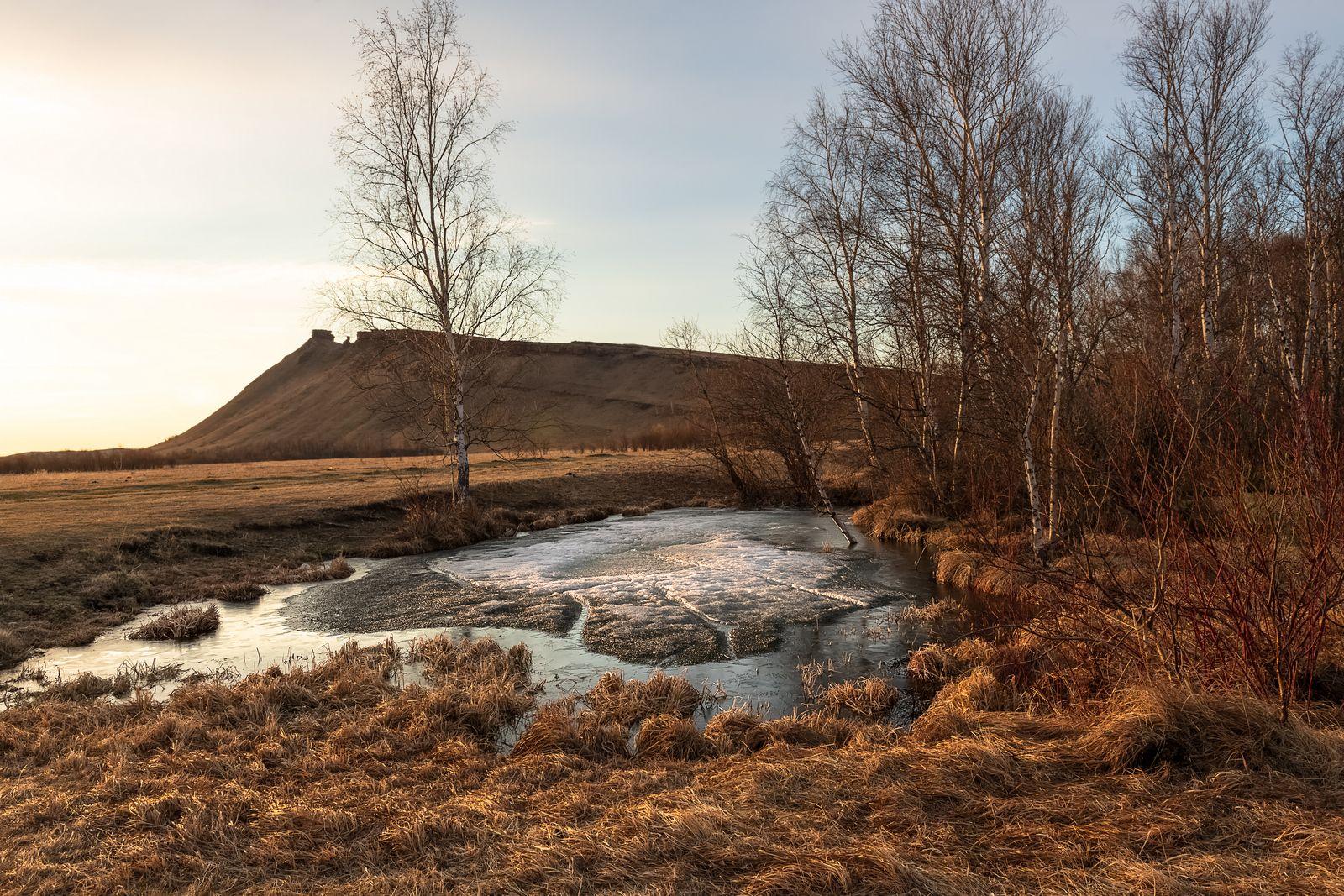 Весна похожая на осень. Сундуки Хакасия Черная речка