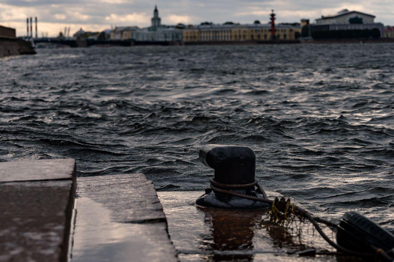 Петербург. Наводнение. Безмолвный зритель. Петербург