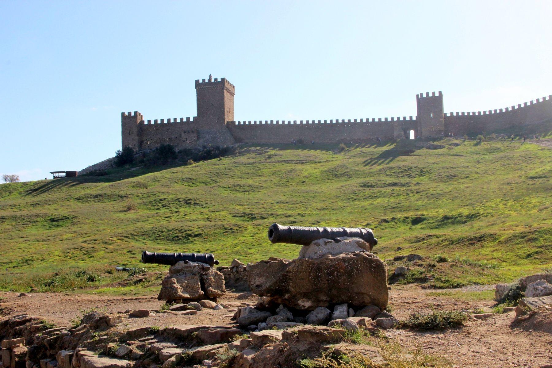 Пушки крым судак пушки крепость