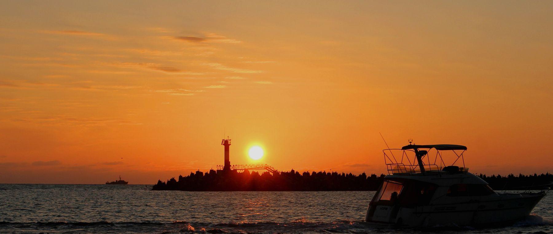 закат над Черным морем закат над Черным морем