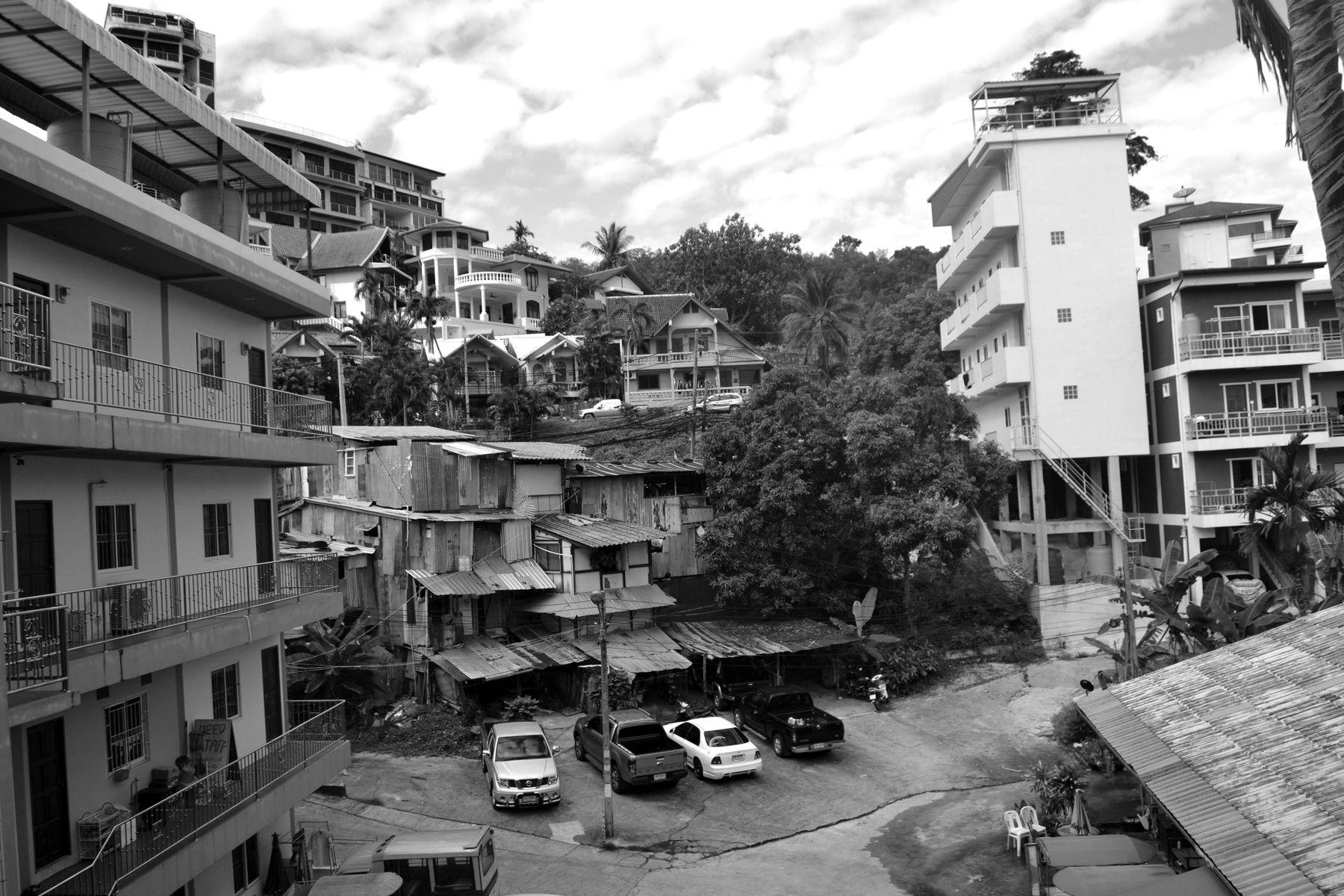 Вид из окна_1 таиланд черно-белое видизокна