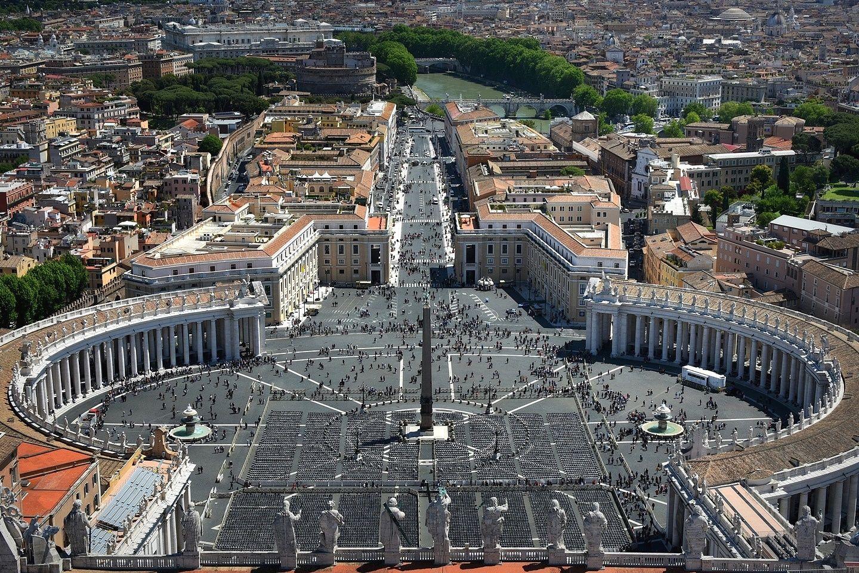 Площадь Святого Петра...