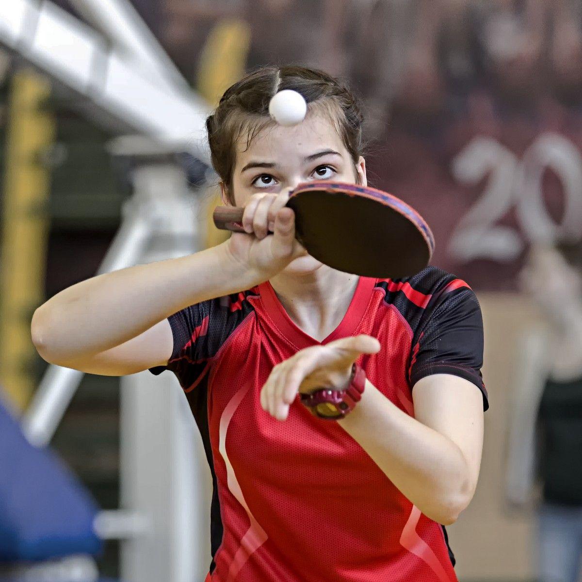 Ты лети, лети, лепесток... (с) настольный теннис пинг-понг спорт table tennis ping-pong sport girl