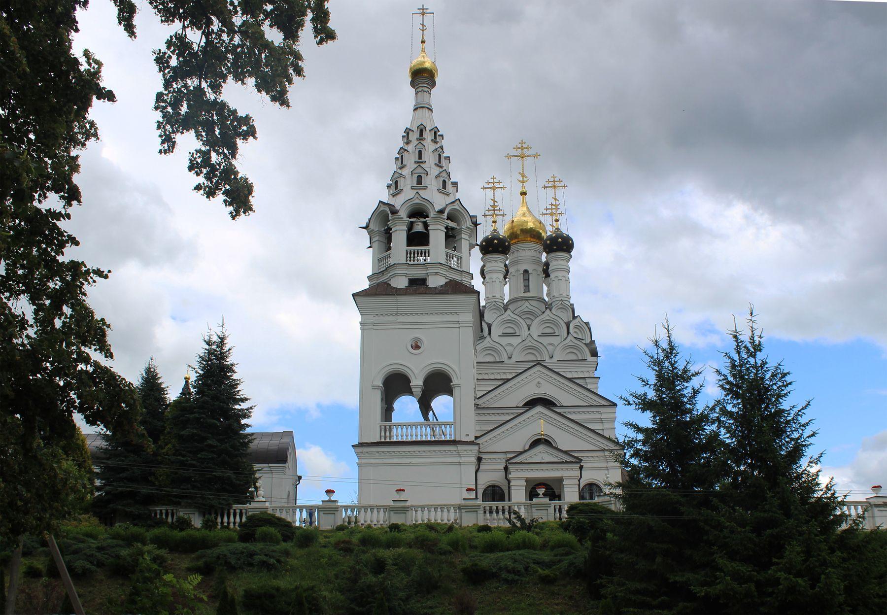 Церковь в Багратионовске.