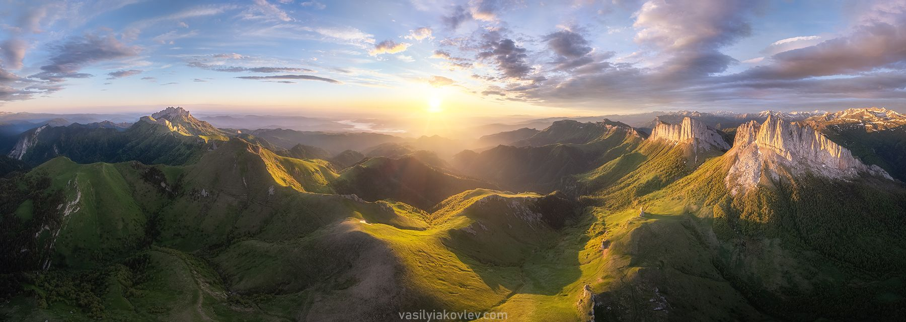 Панорама Природного парка Большой Тхач большой тхач фототур яковлевфототур адыгея кавказ ачешбок