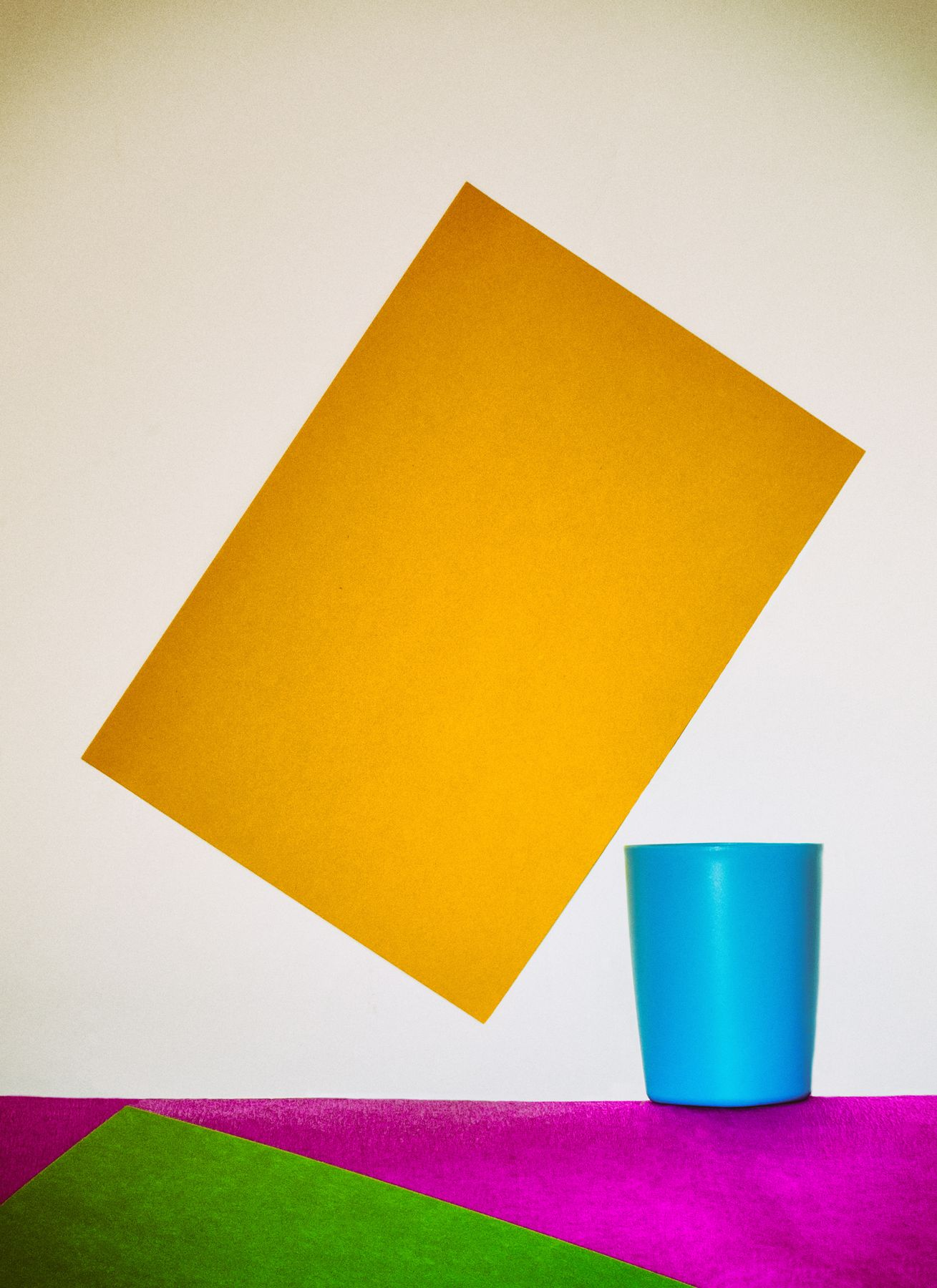 Желтый и синий Желтый и синий
