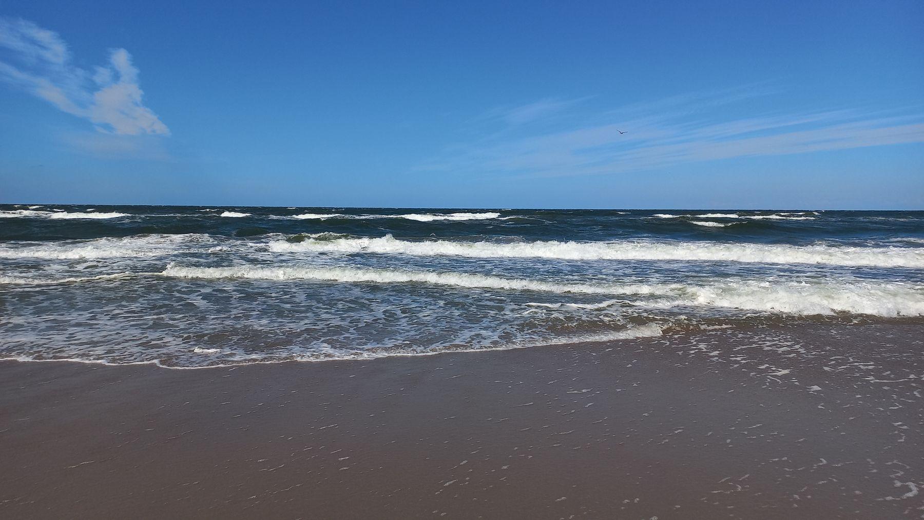 Балтийское море в Янтарном (Калининградская область) Балтика Море Янтарный