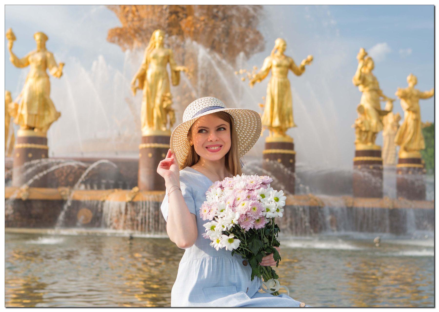 Про шляпку и фонтан