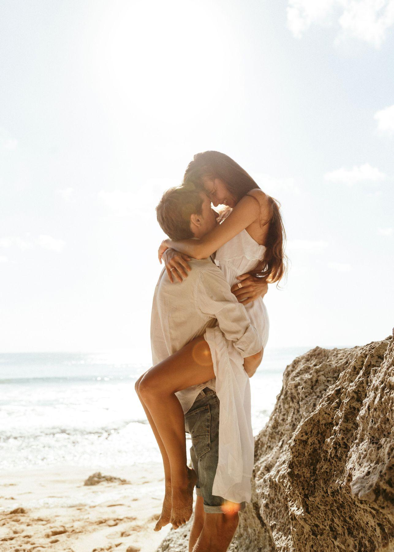 *** пара любовь Love-story Бали море пляж счастье