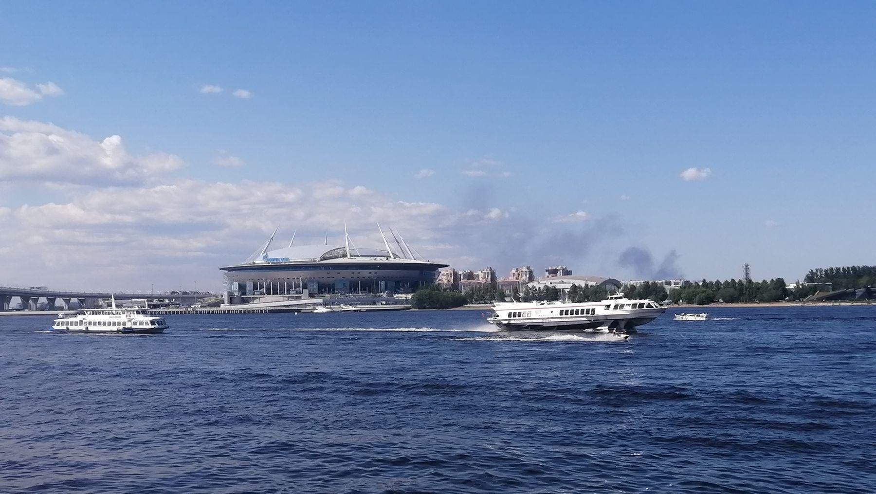 Июньский Стадион Санкт-Петербург Санкт-Петербург стадион 2021 лето евро футбол спорт достопримечательности