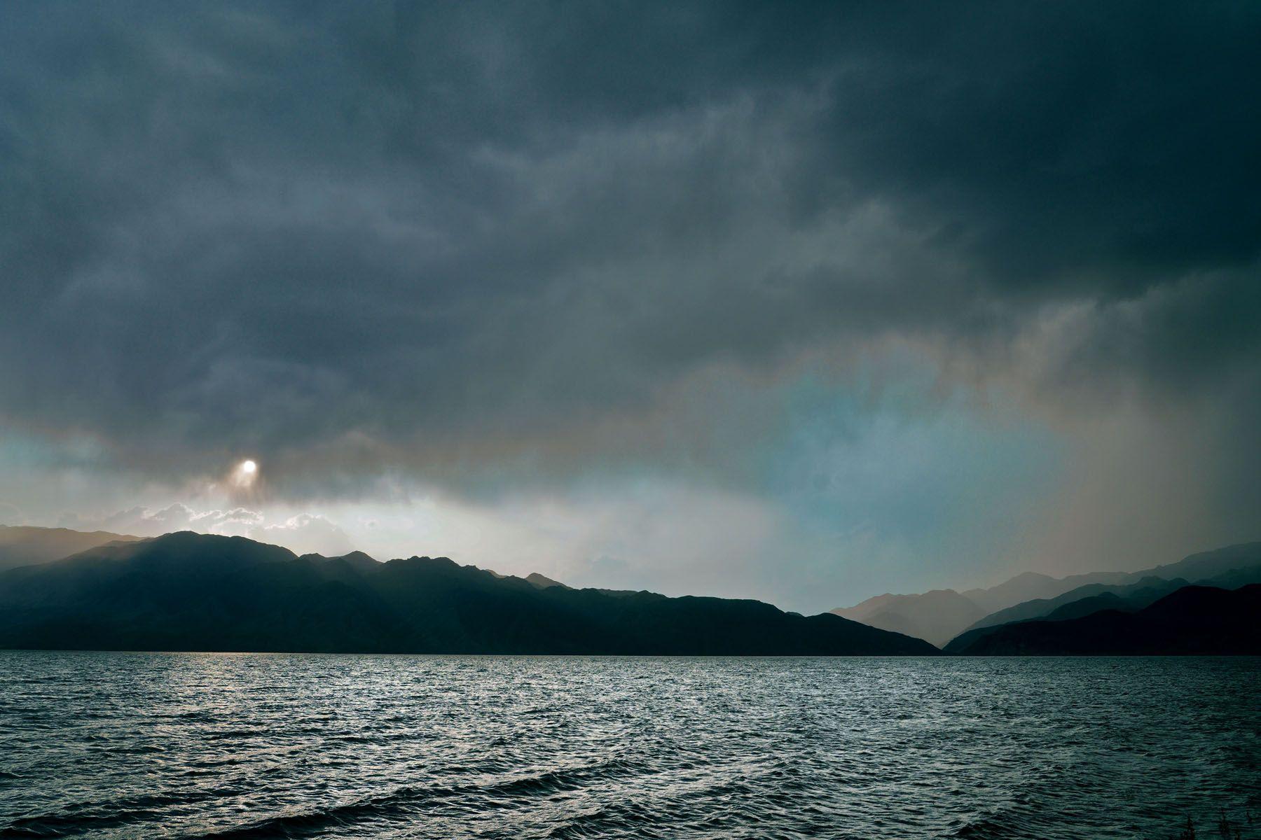 Водохранилище Бартогай - Казахстан