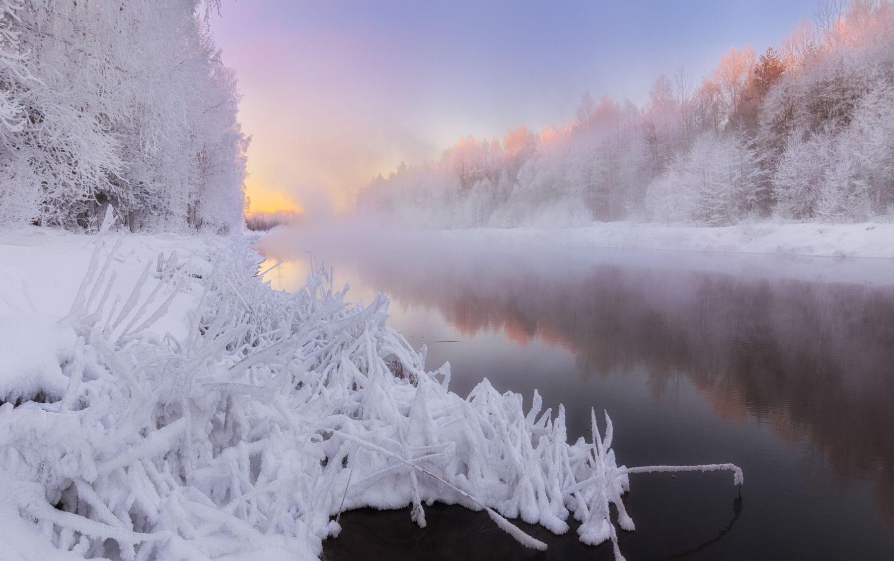 Зимним утром