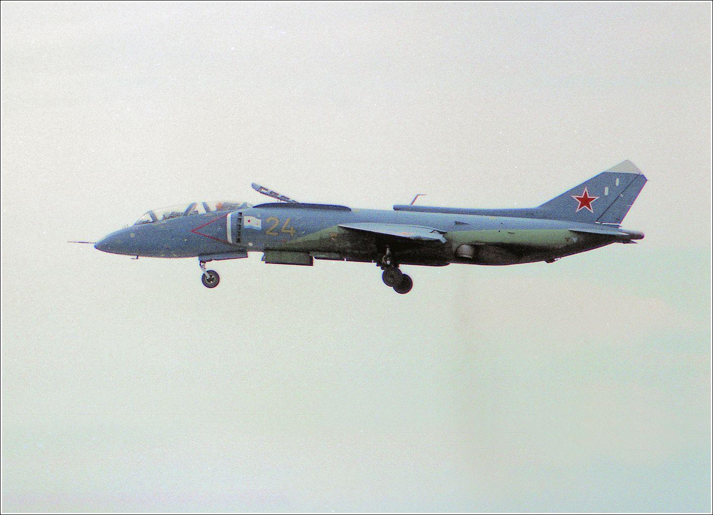 Як-38 Як-38 авиация самолет полет Жуковский 1995 МАКС