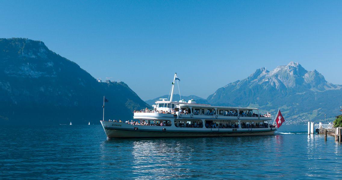 Serenade in Blue Switzerland Lucerne