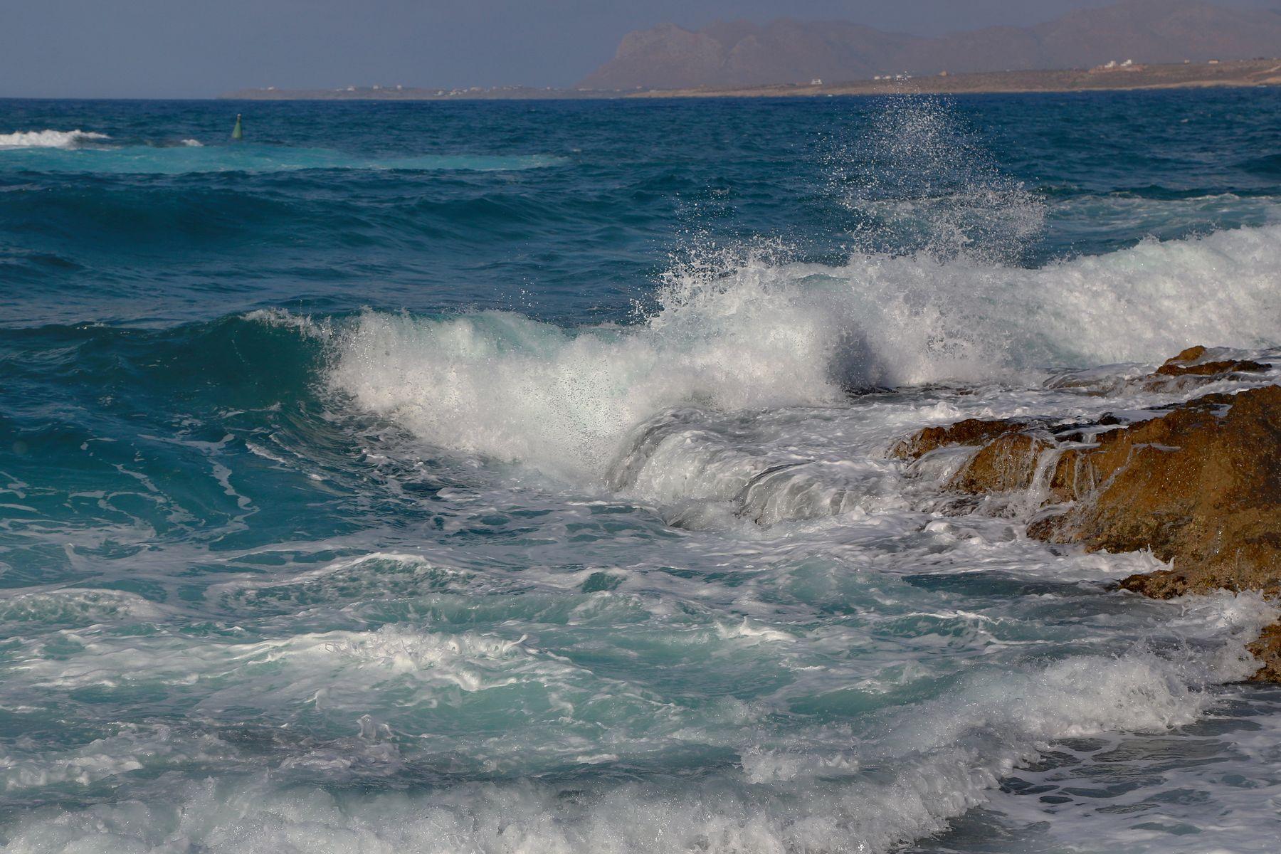 *** Хрустальное море... море шторм хрусталь пейзаж