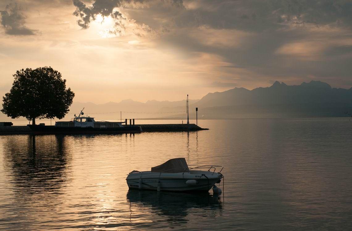 Hazy Sunshine Switzerland Leman
