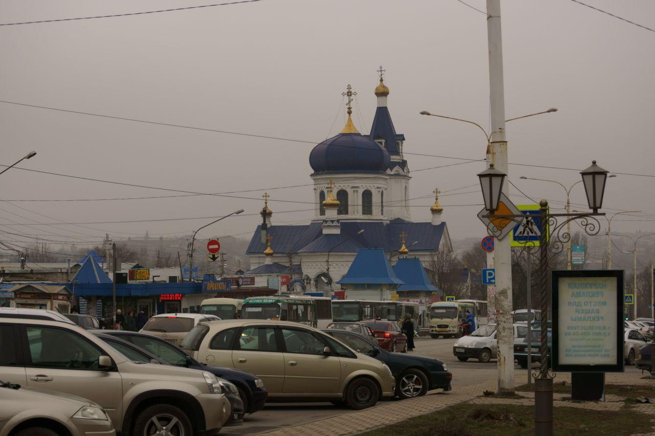 Церквей синие купола