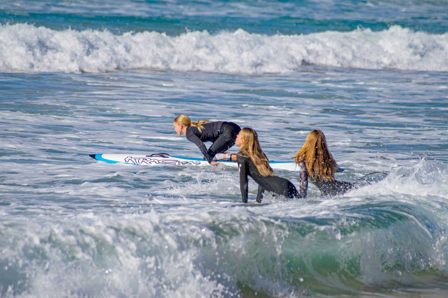 Австралийские русалки... Sydney Manly Beach