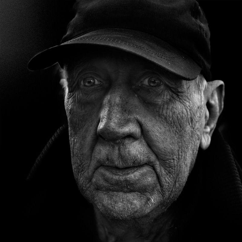 *** портрет улица черно-белое фото люди street photography