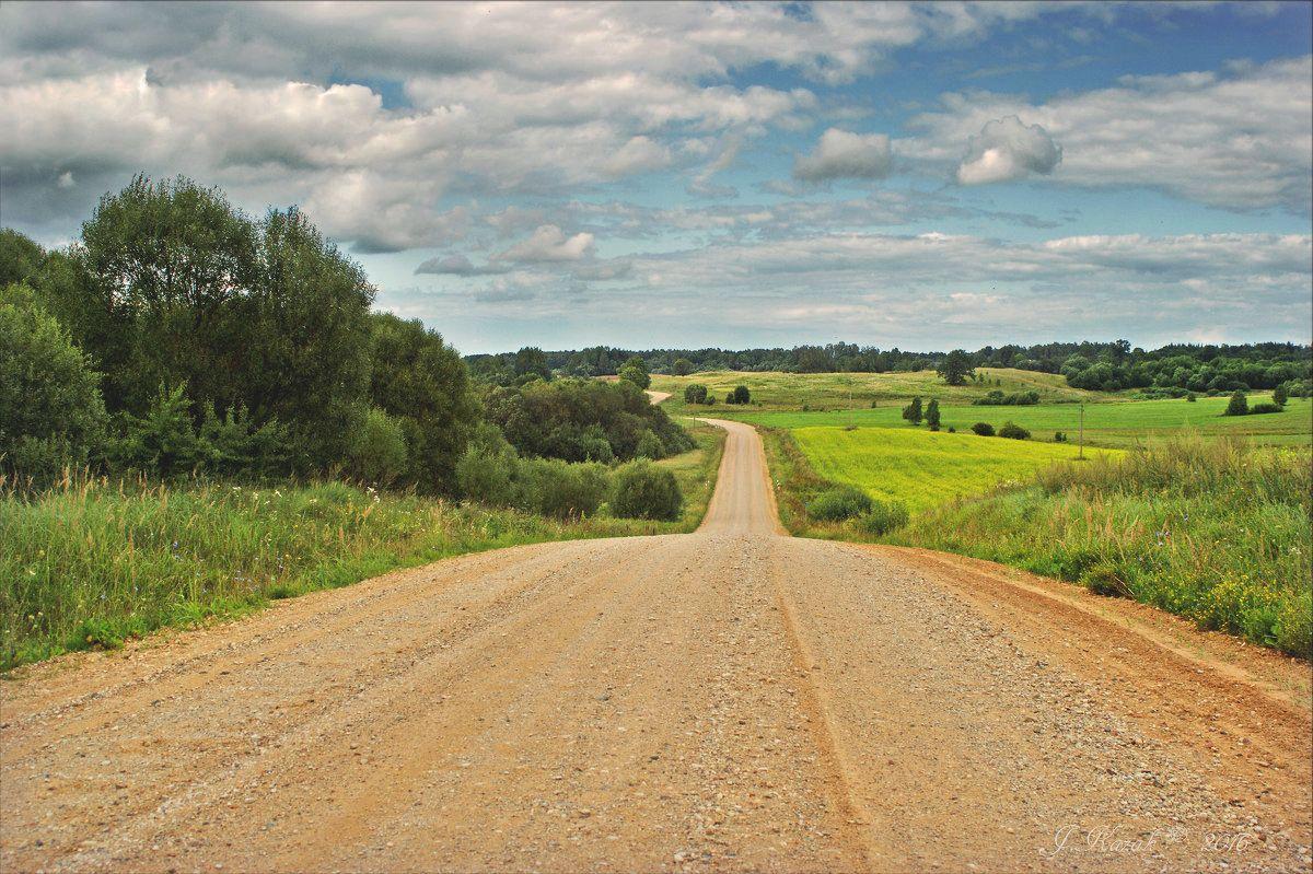 Извилистый путь. природа дорога пейзаж