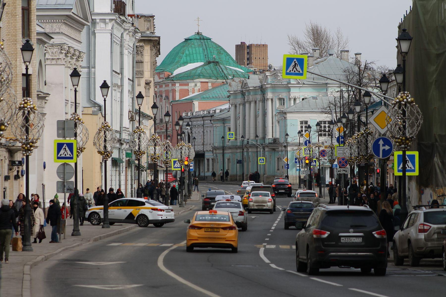 улица Покровка Москва
