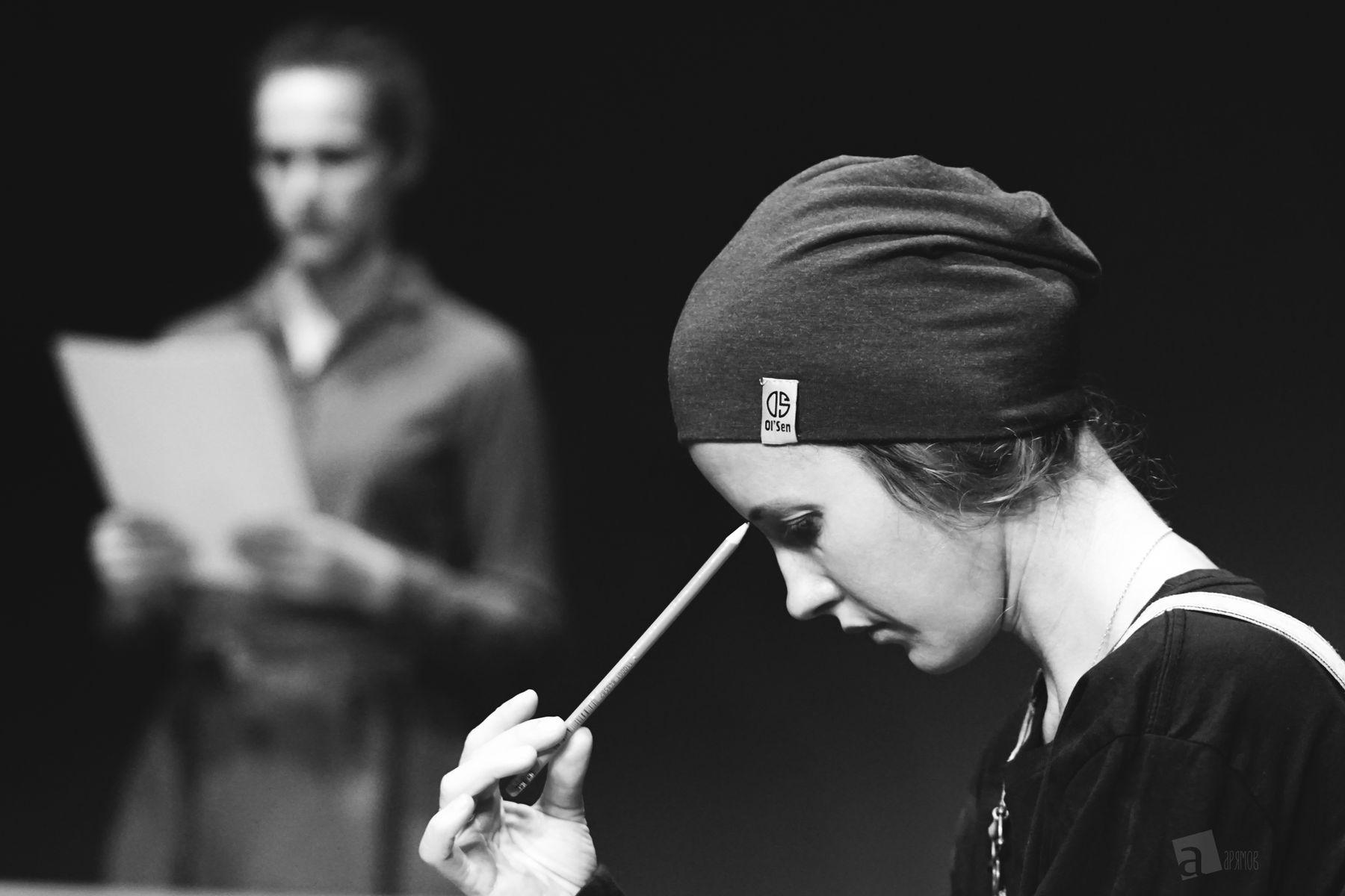 театр. репетиция. девушка портрет глаза взгляд красотка красавица портретная фотография театральная театр