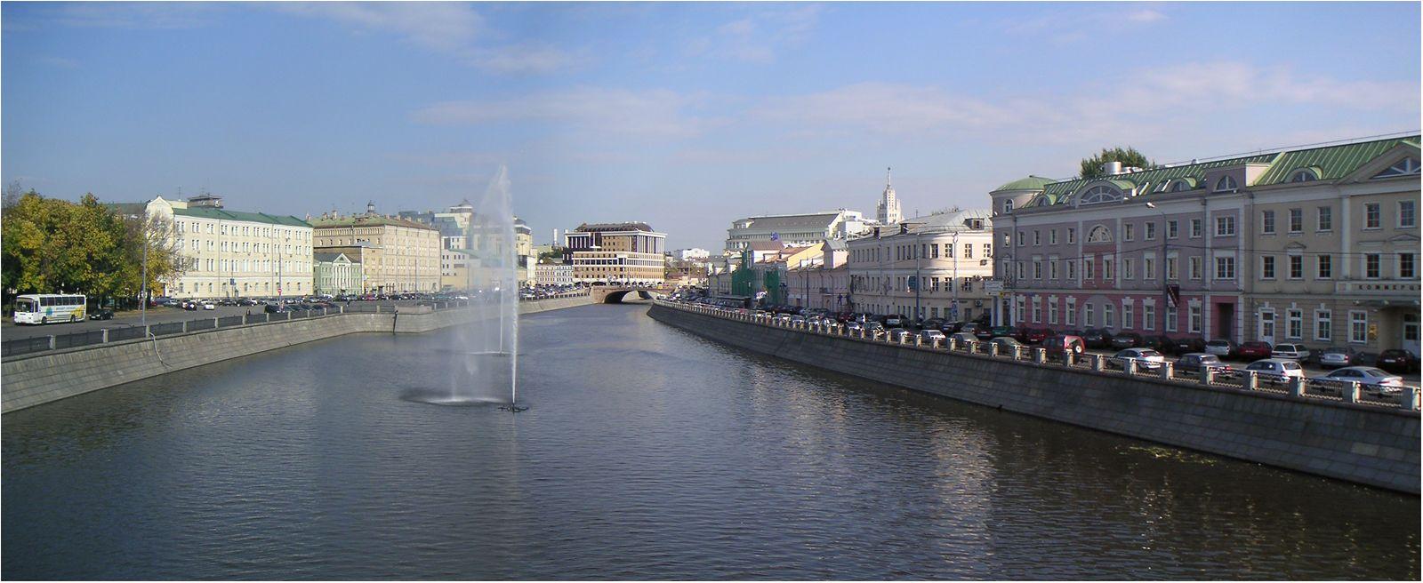 Водоотводный канал Москва
