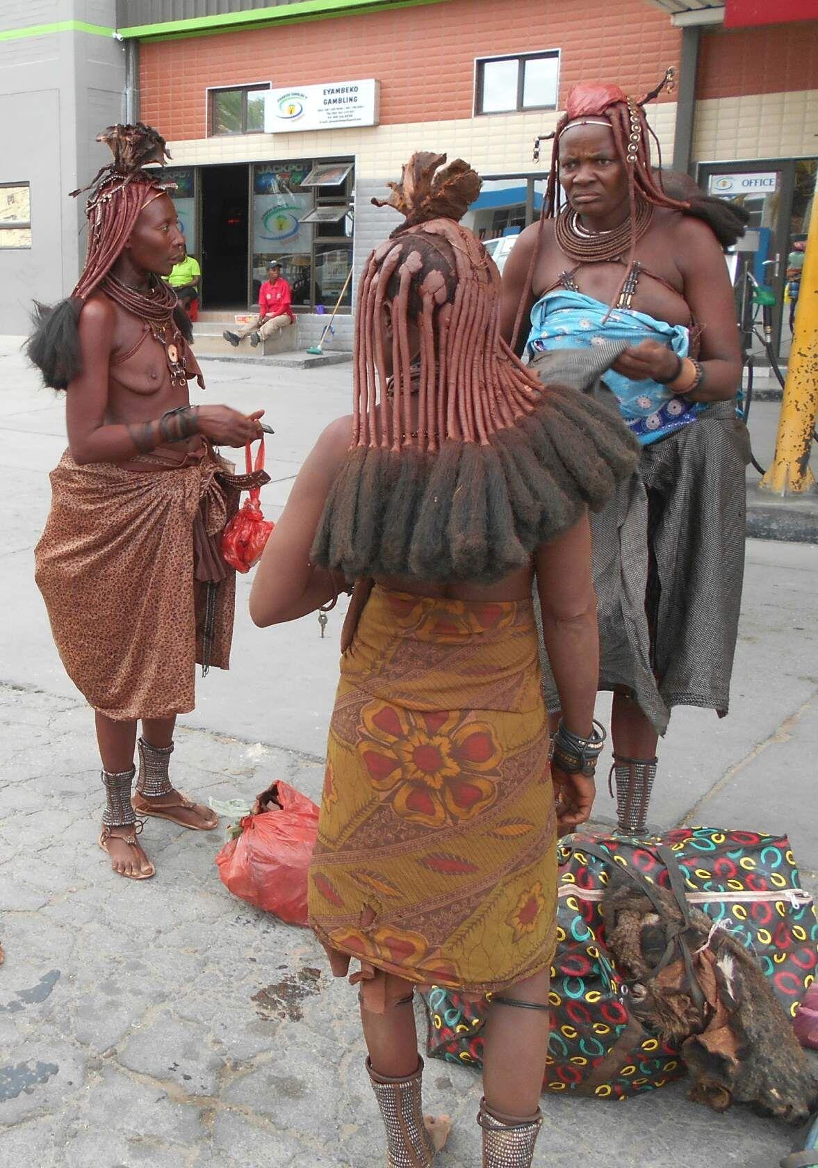Выражение лица! африка химба намибия