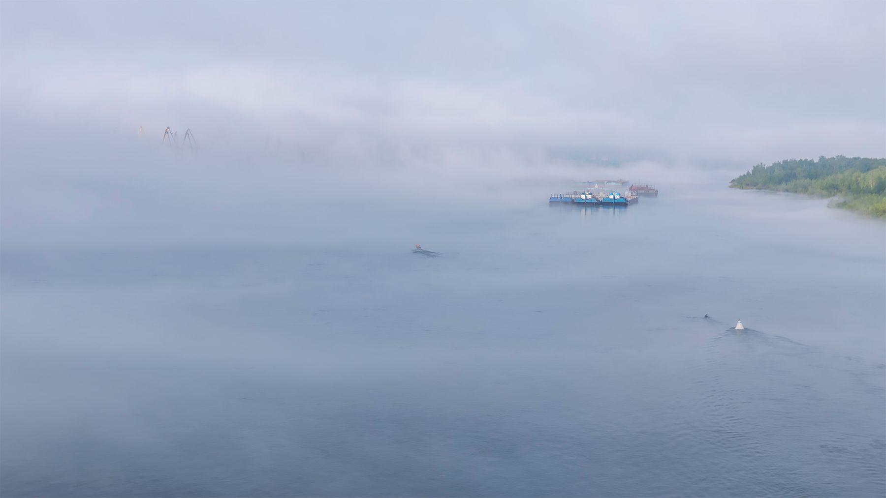 Туман Енисей туман