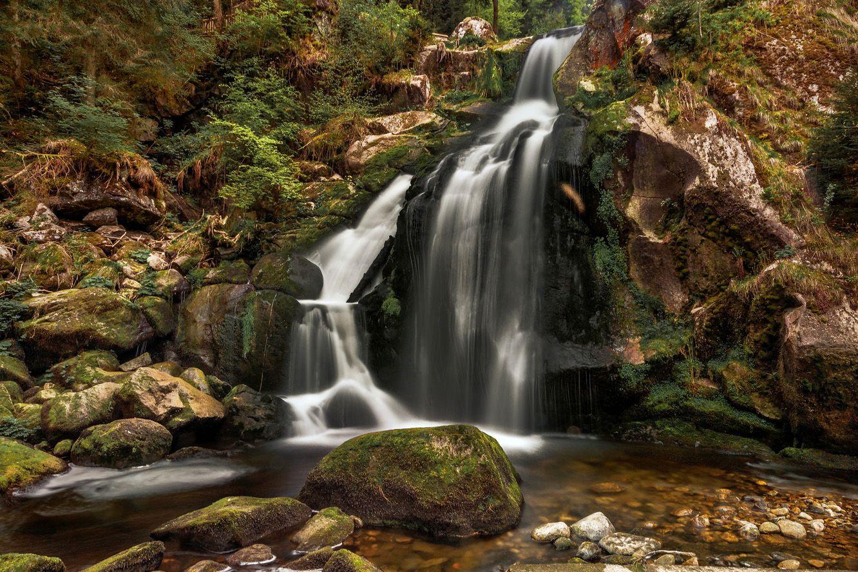 Водопад Триберг (Triberger Waterfall)