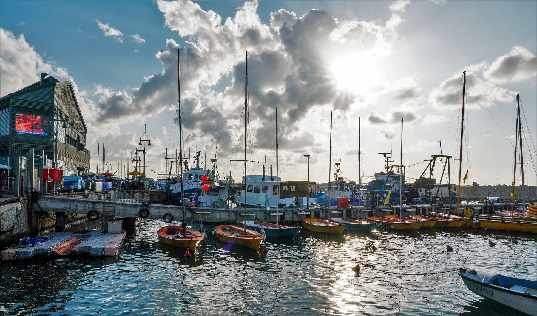 Порт в Яффо