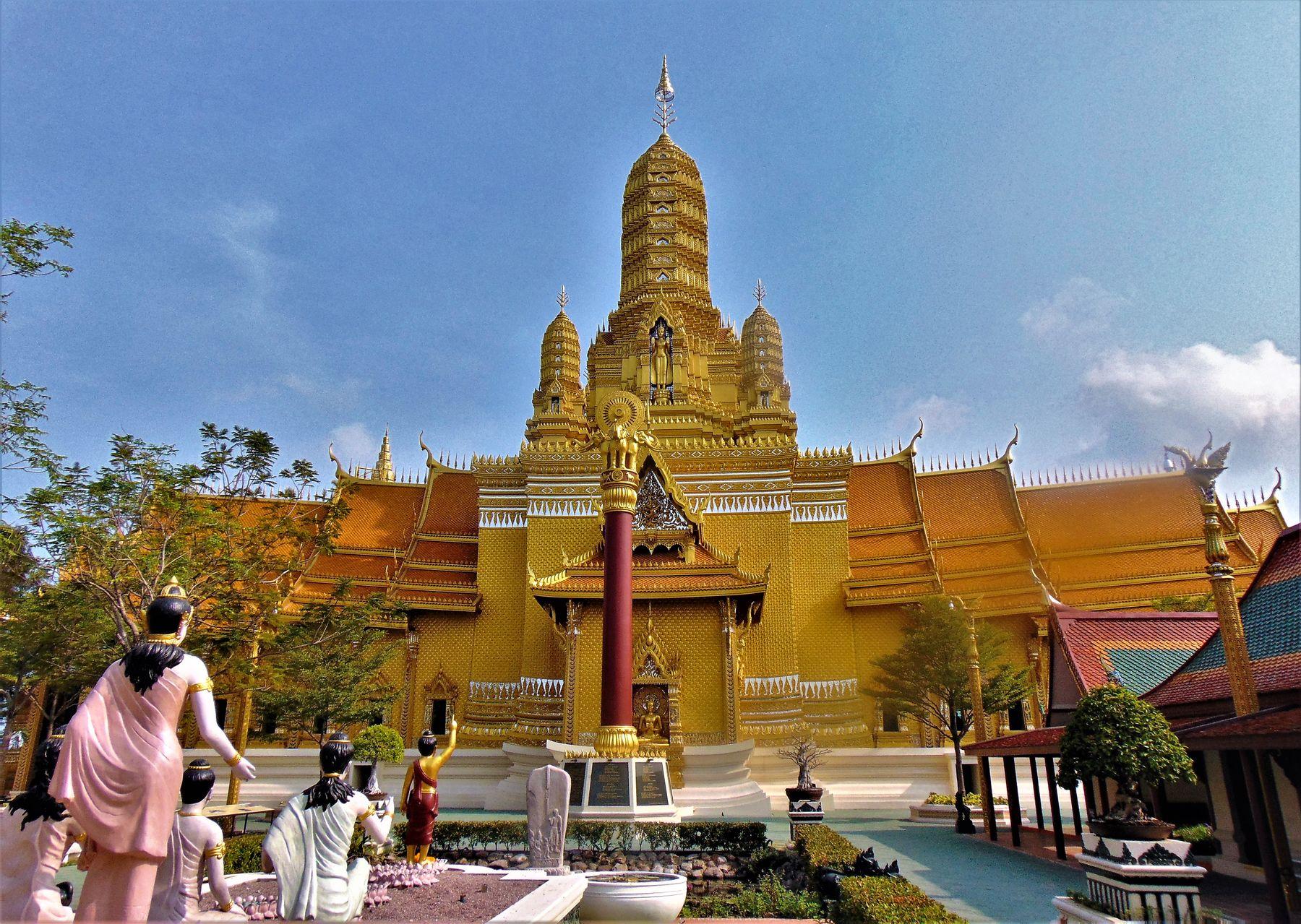 Храмы Азии Таиланд парк Муанг Боран