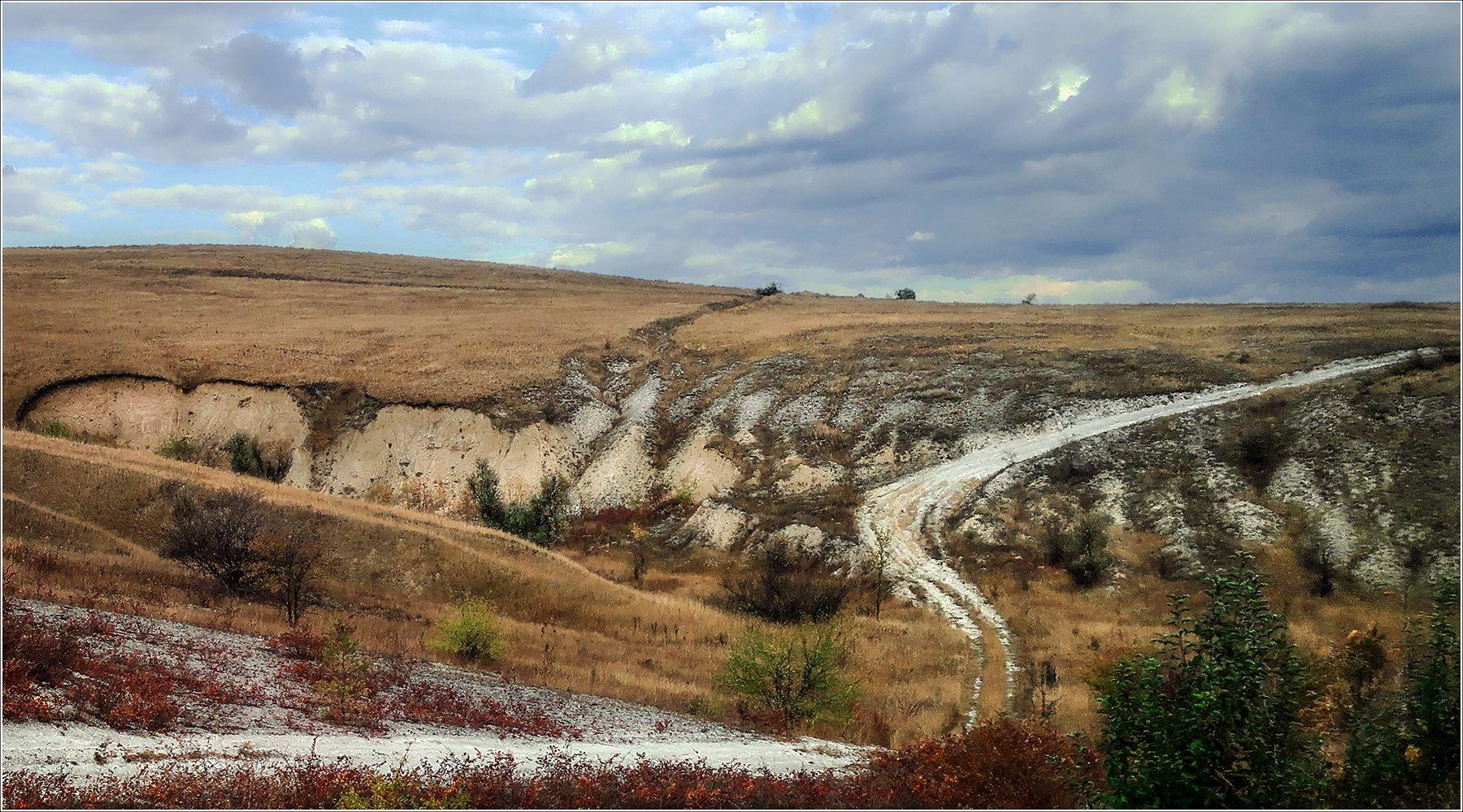 *Дорожный пейзаж* фотография путешествия средняя полоса осень пейзаж дорога Фото.Сайт Светлана Мамакина Lihgra Adventure